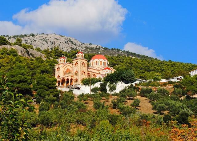 Μονή των Αγίων Μαρτύρων Κυπριανού και Ιουστίνης