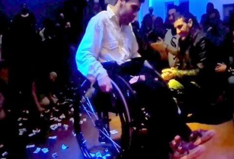 Ζεϊμπέκικο αναπηρικό αμαξίδιο