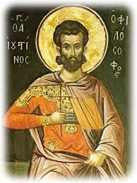 Μνήμη του αγίου μάρτυρος Ιουστίνου του φιλοσόφου - ΕΚΚΛΗΣΙΑ ONLINE