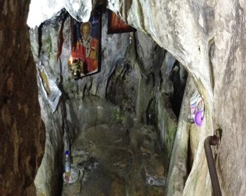 σπήλαιο αγίου μύρωνα