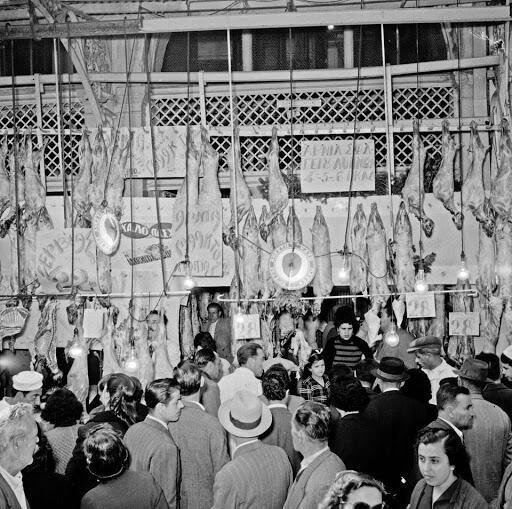 Βαρβάκειος Αγορά 1960
