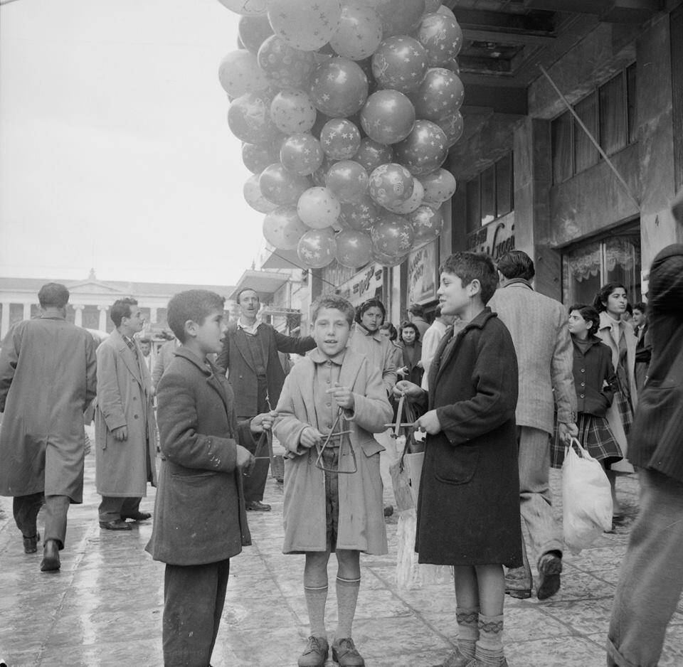 κάλαντα Αθήνα 1960