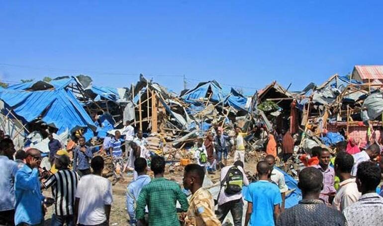 έκρηξη παγιδευμένου αυτοκινήτου Μογκαντίσου Σομαλίας