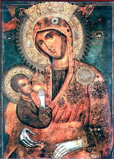 Η Θαυματουργή εικόνα της Παναγίας Γαλακτοτροφούσης, κτήμα της Ιεράς Μονής Χιλανδαρίου