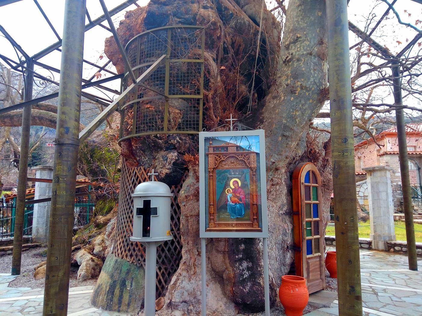 εκκλησάκι Παναγιάς Πλατανιώτισσας