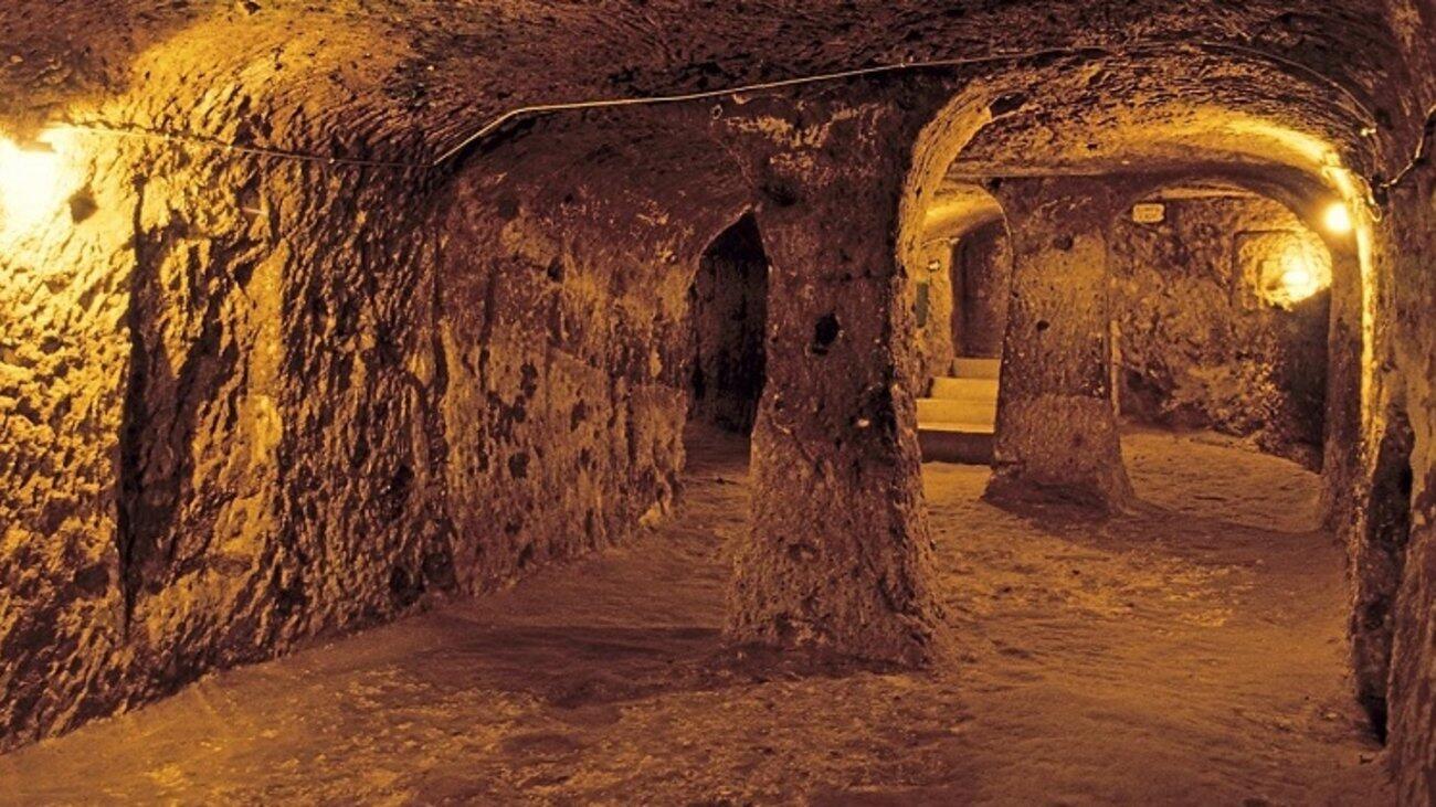 υπόγεια πόλη Καππαδοκία