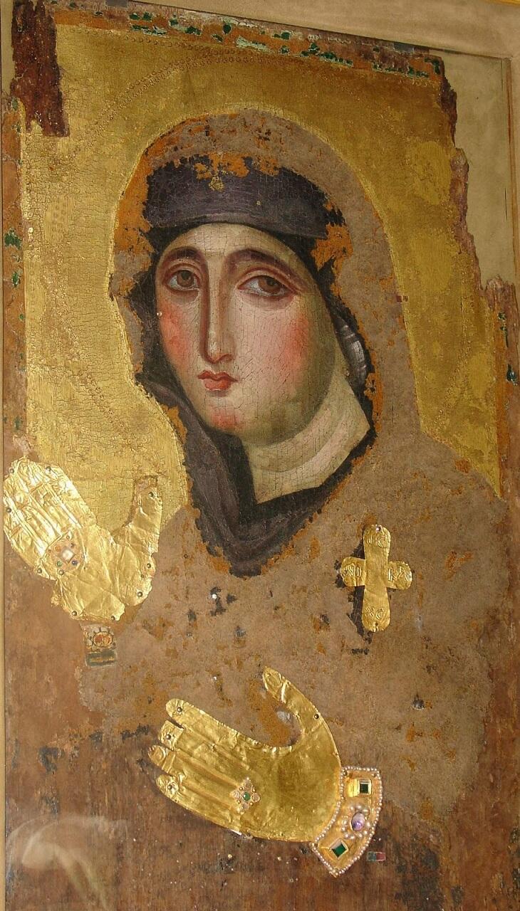 εικόνα της Παναγίας Αγιοσορίτισσας