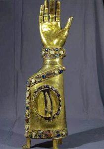 δάχτυλο του Αγίου Νικολάου