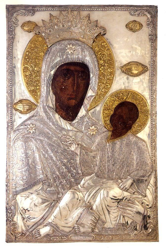 Παναγία Εσφαγμένη - Ιερά Μονή Βατοπαιδίου