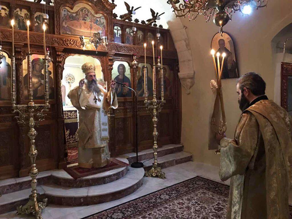 Μνημόσυνο 21 ετών του Μητροπολίτου Ρεθύμνης κηρού Θεοδώρου