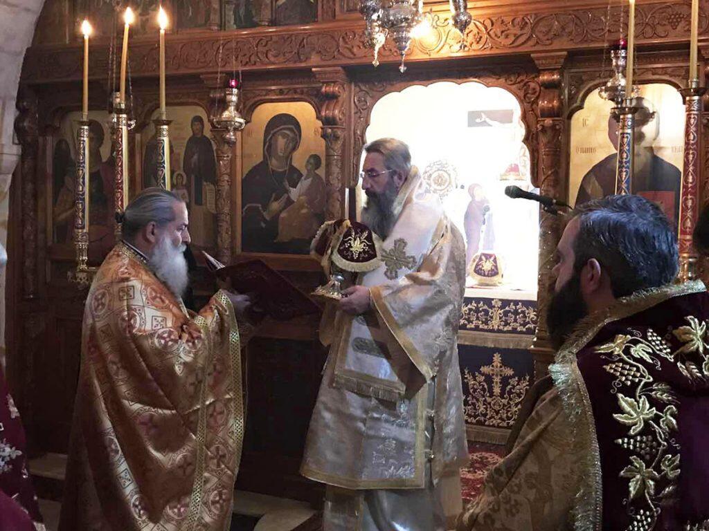 Μνημόσυνο 21 ετών του Μητροπολίτου Ρεθύμνης και Αυλοποτάμου κηρού Θεοδώρου