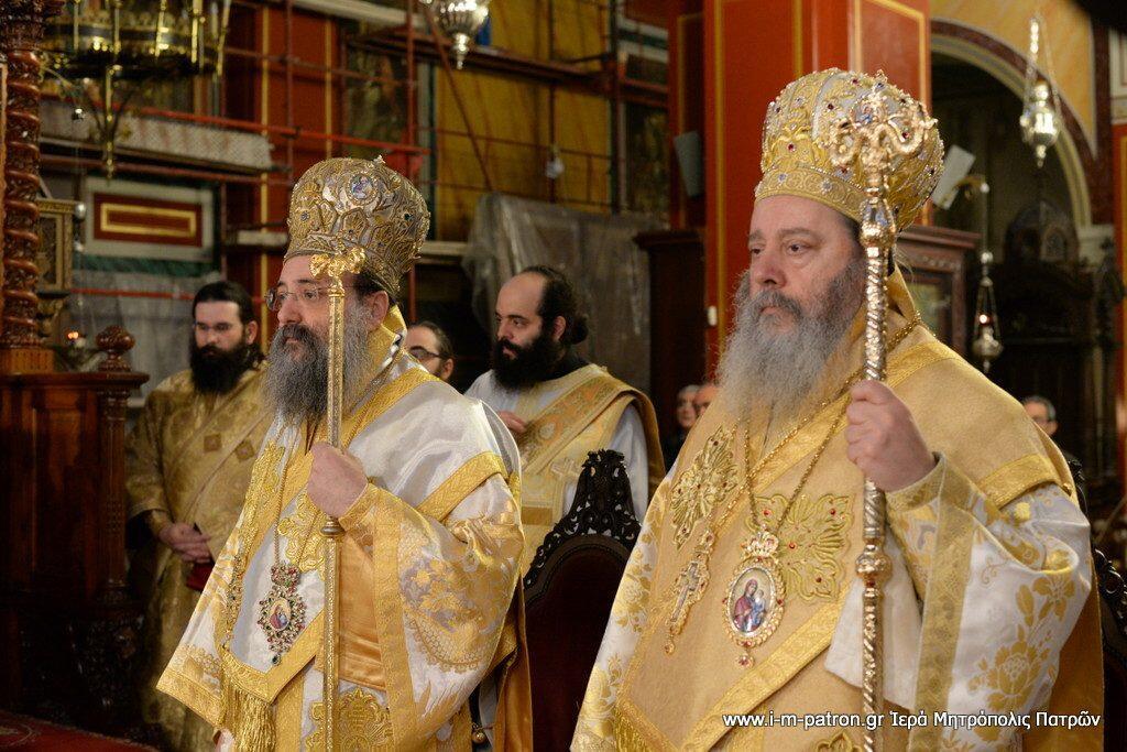 12 χρόνια από την Επίσκοπο χειροτονία του Σεβασμιωτάτου Μητροπολίτου Πατρών
