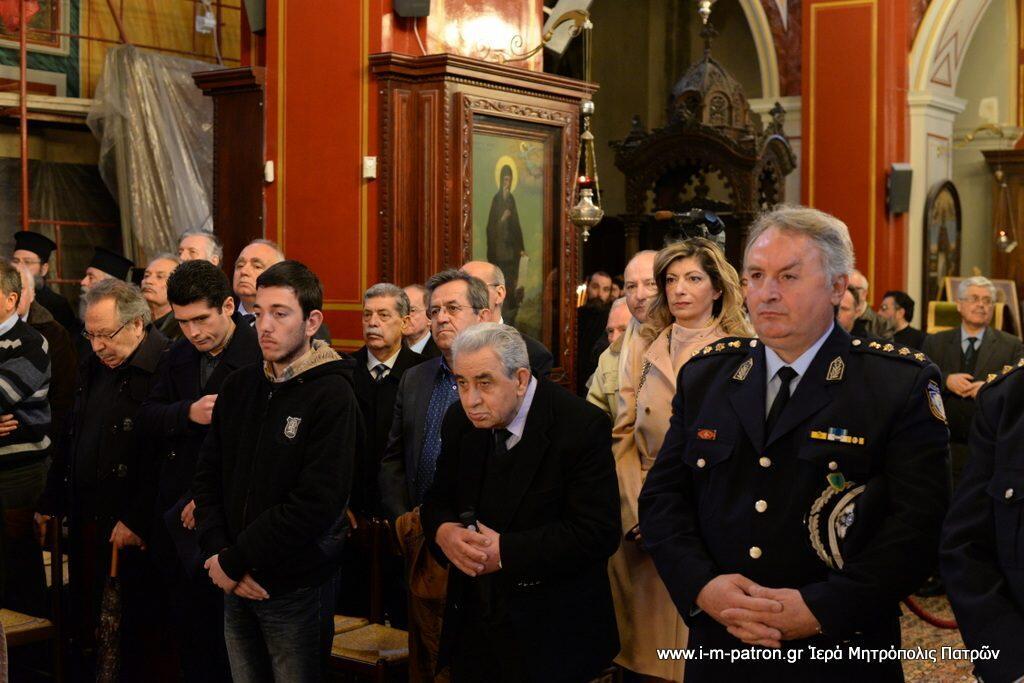 12 χρόνια από την Επίσκοπο χειροτονία του Σεβασμιωτάτου Μητροπολίτου Πατρών Χρυσοστόμου