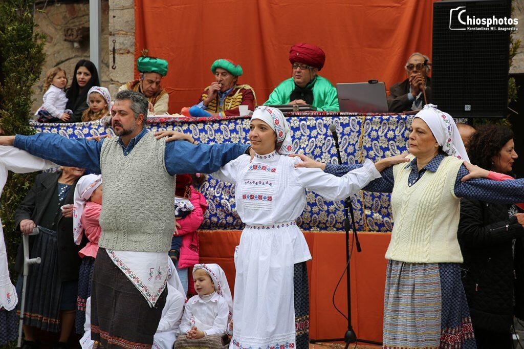 Το μοναδικό έθιμο του Αγά στα Μεστά της Χίου