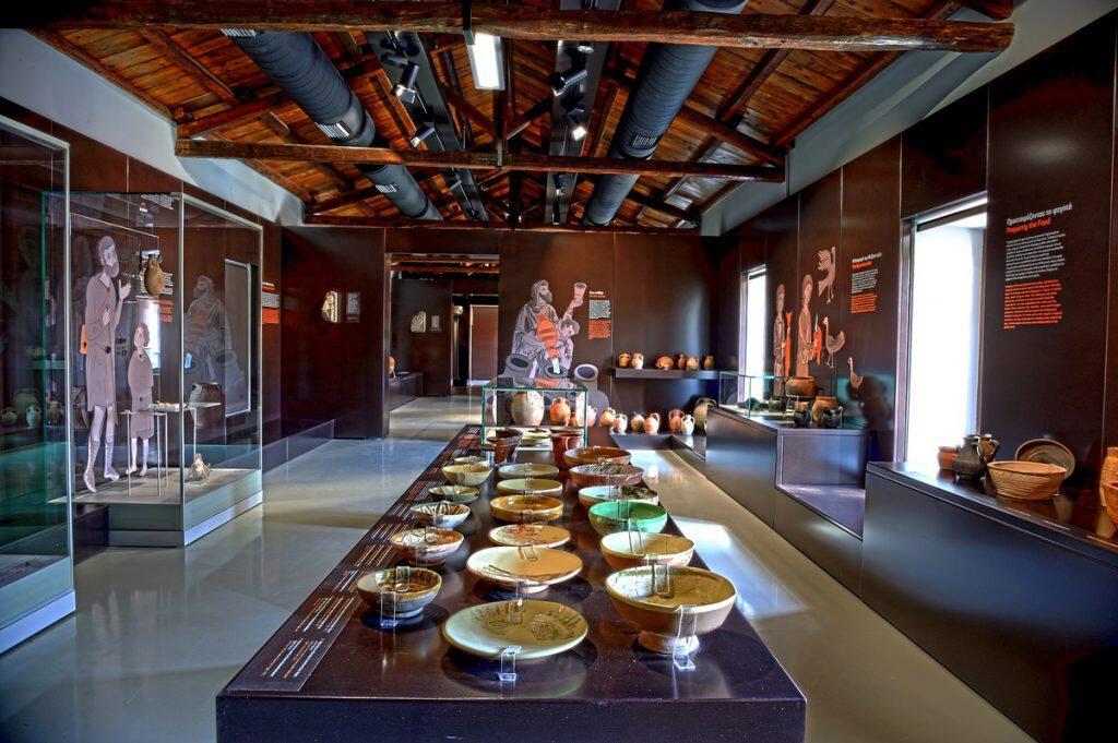 Βυζαντινό Μουσείο Αργολίδας εσωτερικό
