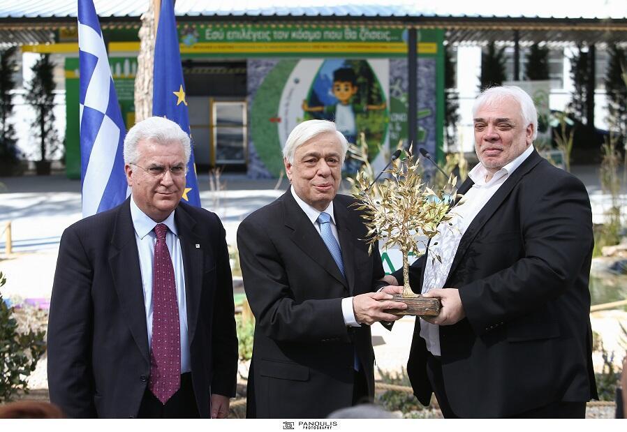Πάρκου Περιβαλλοντικής Ανακύκλωσης παρουσία Προέδρου της Δημοκρατίας
