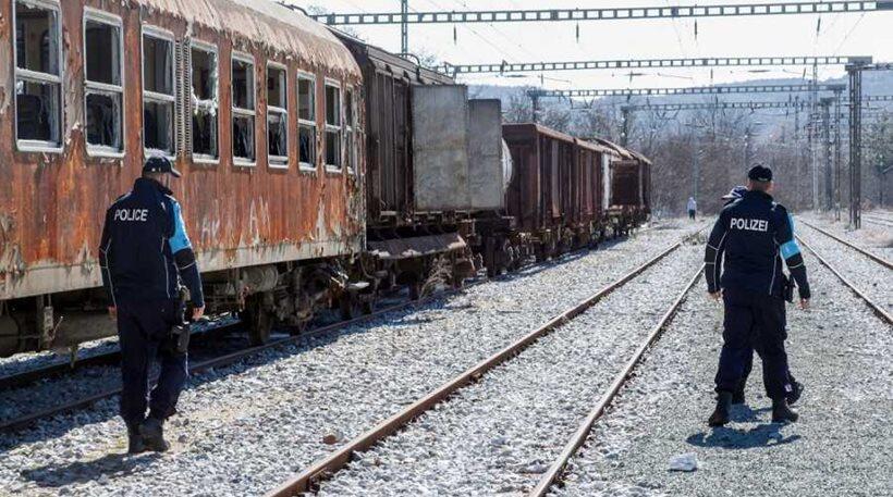 έλεγχος τρένα προσφυγικό