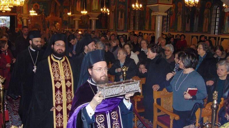 Ανάληψη ιερό Λείψανο Αγίου Σπυρίδωνος