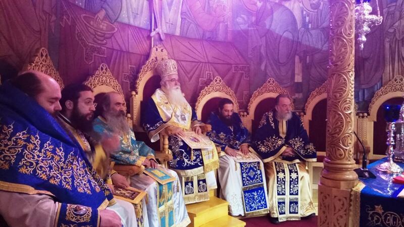 εορτασμός του Ευαγγελισμού στη Μητρόπολη Δημητριάδος