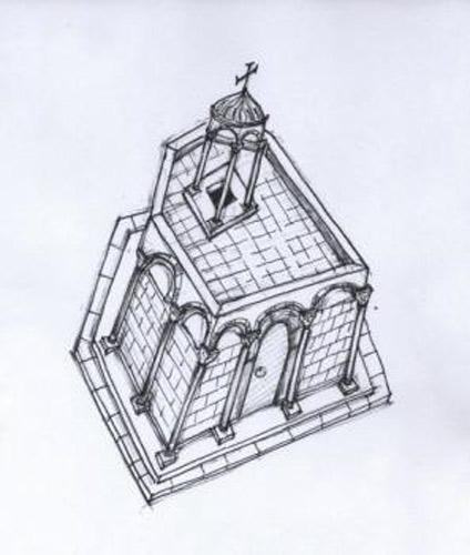 Το Ιερό Κουβούκλιο 11ος αι. μ.Χ. Η αποκατάσταση του σε σχήμα « άμβωνα» από τον Μονομάχο 1045 μ.Χ