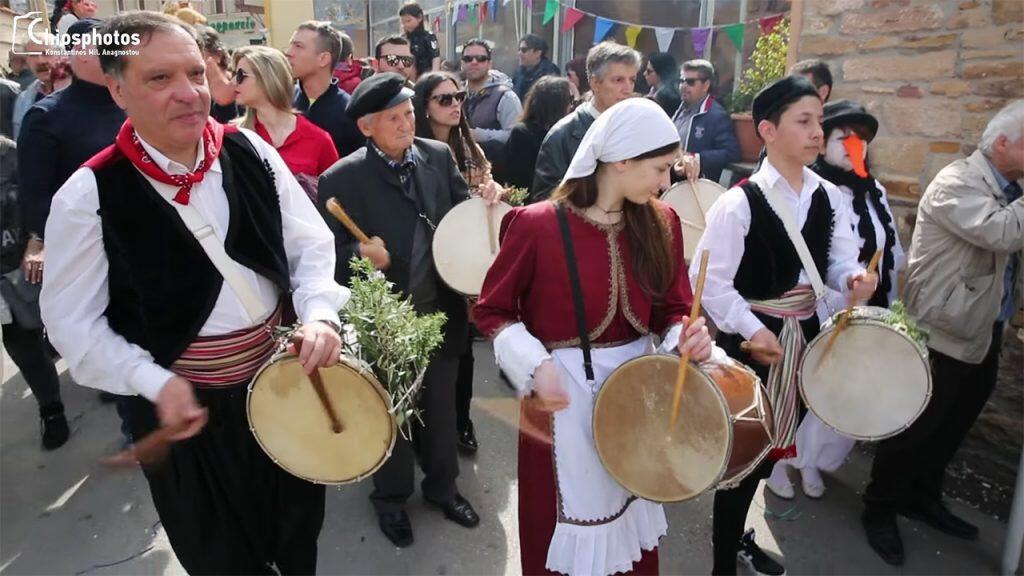 έθιμο της Μόστρας Θυμιανών στη Χίο και ο χορός ταλίμι