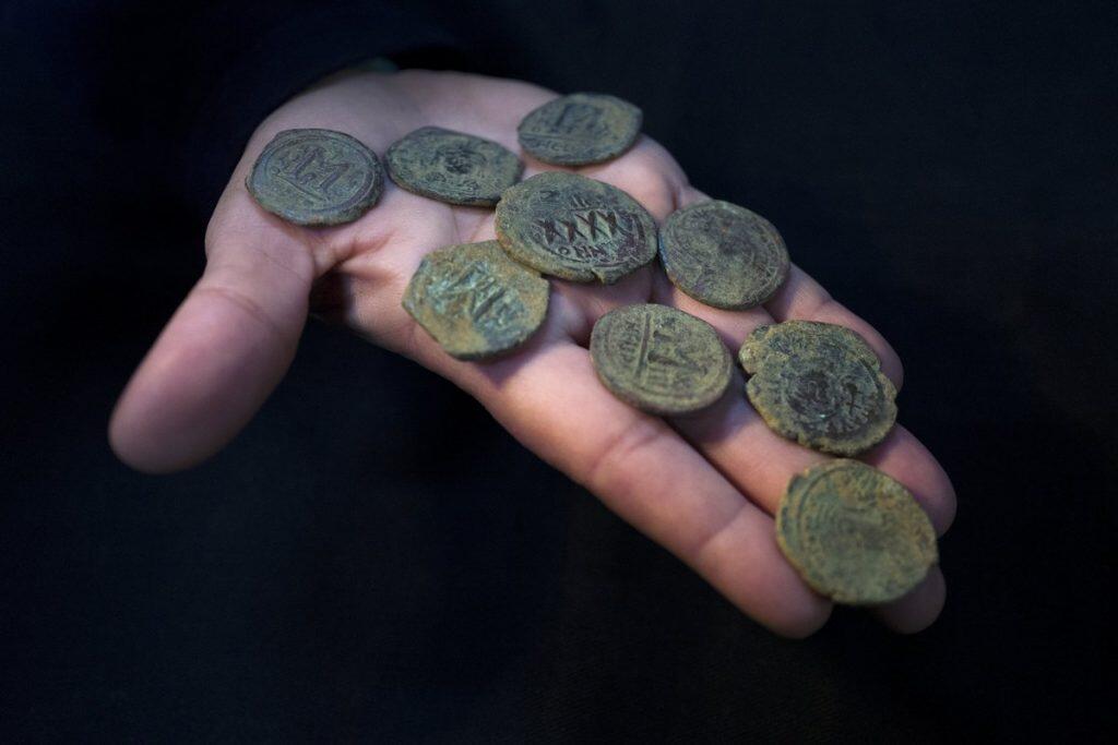 Βυζαντινά νομίσματα στο Ισραήλ