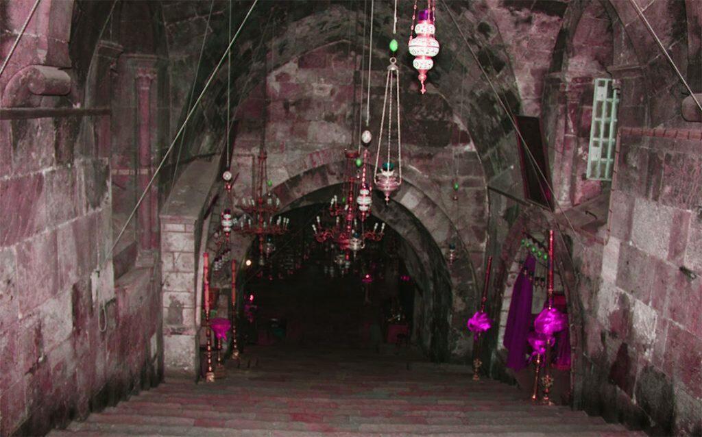 χαράδρα Γεθσημανή ιερό σκύνωμα παναγίας