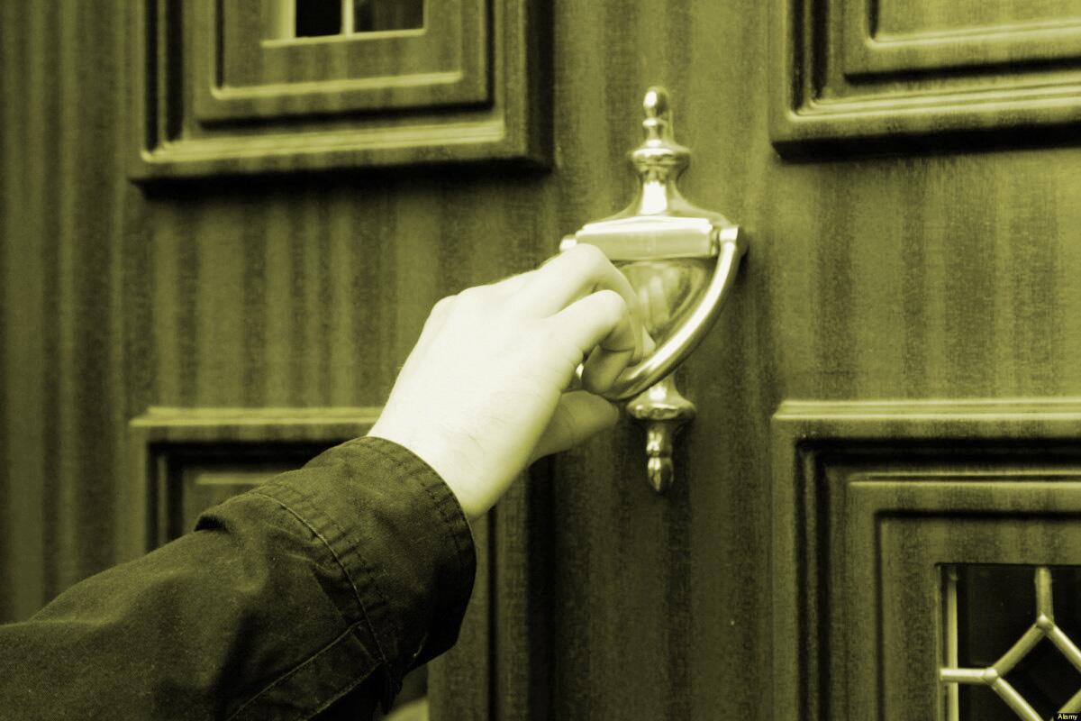 κτυπημα πόρτας Πεντηκοστιανοί