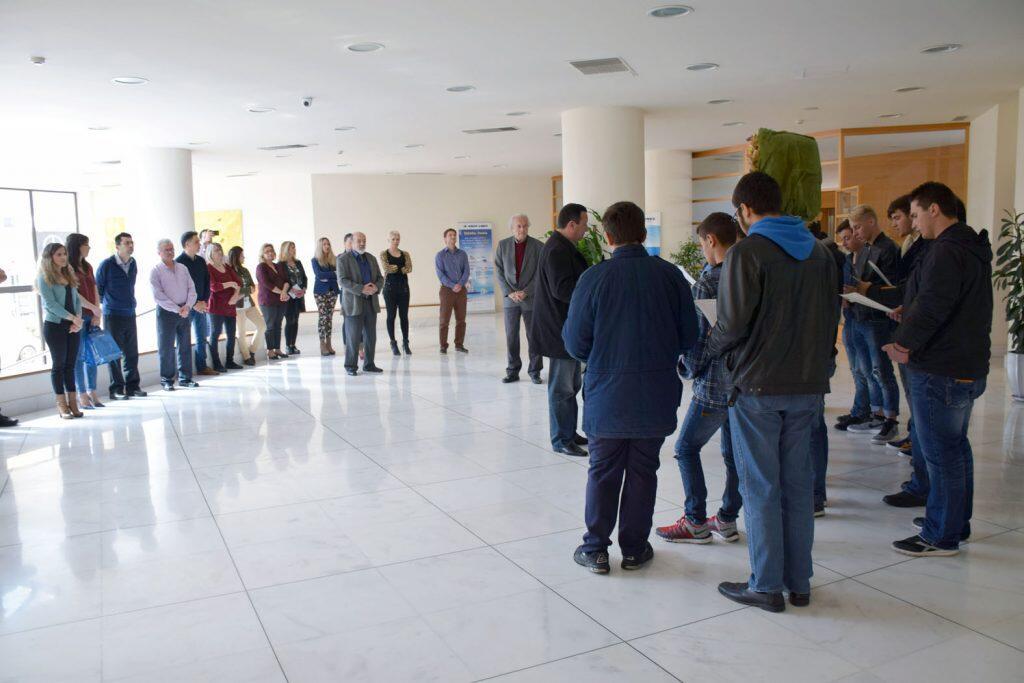 κάλαντα του Λαζάρου από τους μαθητές της Πατριαρχικής Εκκλησιαστικής Σχολής Κρήτης