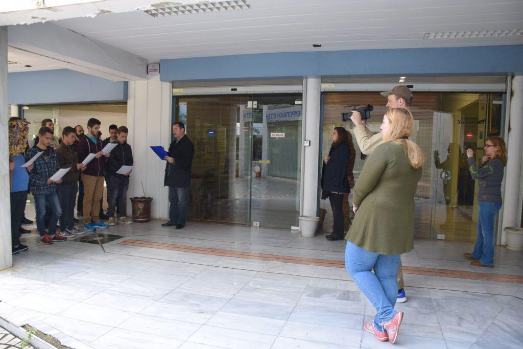 κάλαντα Λαζάρου μαθητές της Πατριαρχικής Εκκλησιαστικής Σχολής Κρήτης