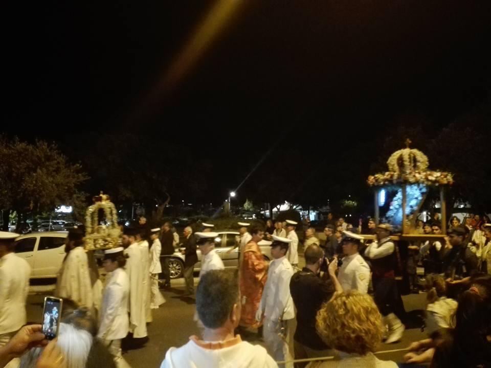 Πανηγυρικός Εσπερινός της Εορτής των Αγίων Κωνσταντίνου Ελένης Γλυφάδα