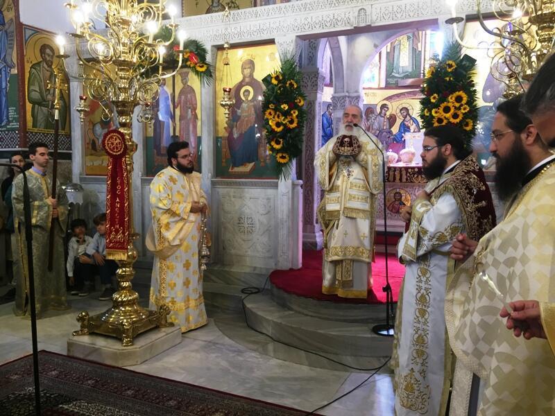 ο Εορτασμός των Αγίων Κωνσταντίνου Ελένης Βόλο