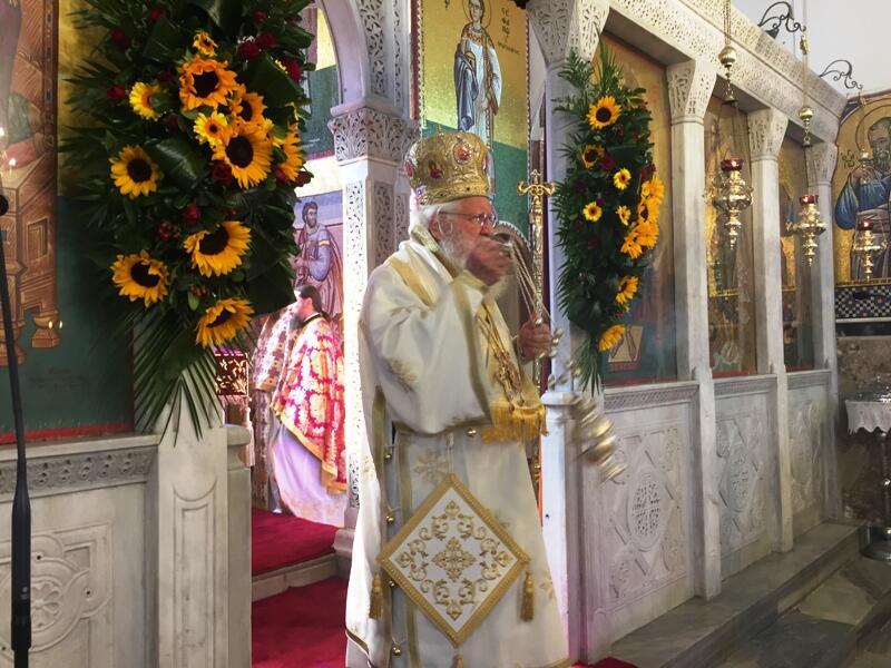 Μεγαλοπρεπής ο Εορτασμός των Αγίων Κωνσταντίνου Ελένης στο Βόλο