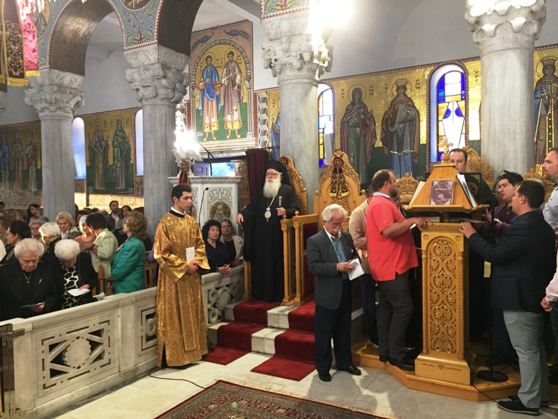 Εορτασμός Αγίων Κωνσταντίνου Ελένης Βόλος