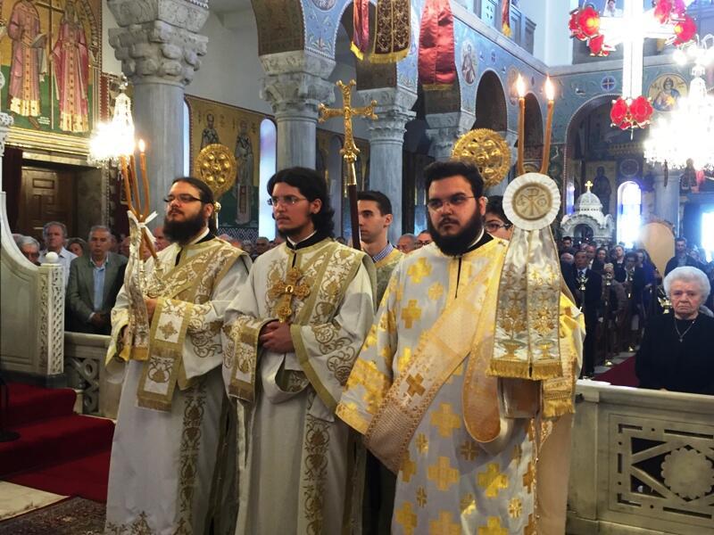 Μεγαλοπρεπής ο Εορτασμός των Αγίων Κωνσταντίνου και Ελένης Βόλο