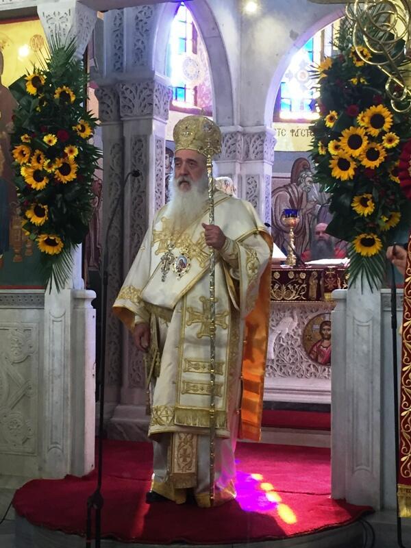 Μεγαλοπρεπής ο Εορτασμός των Αγίων Κωνσταντίνου και Ελένης