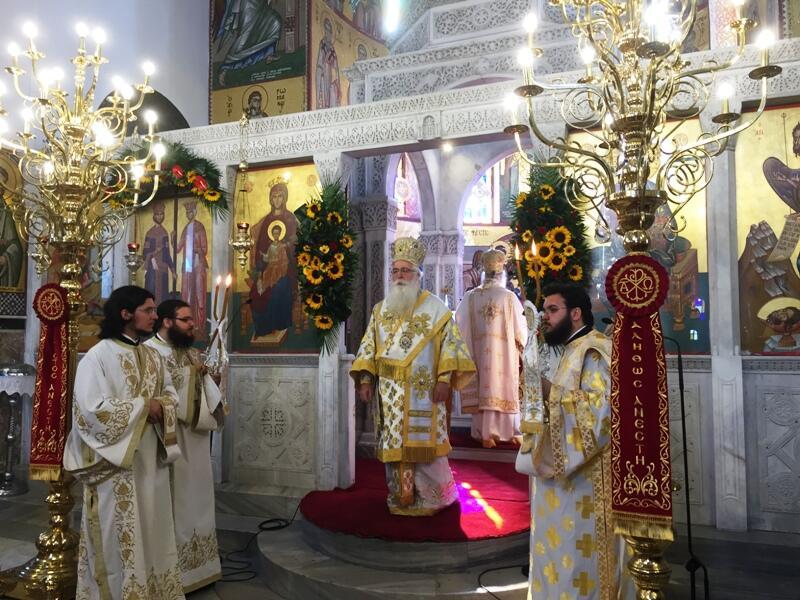 Εορτασμός των Αγίων Κωνσταντίνου Ελένης στο Βόλο