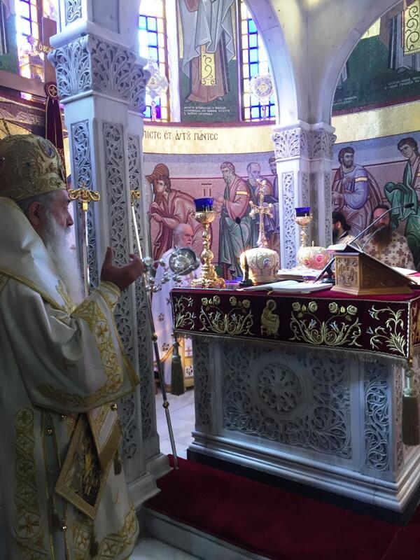 Εορτασμός Αγίων Κωνσταντίνου και Ελένης στο Βόλο