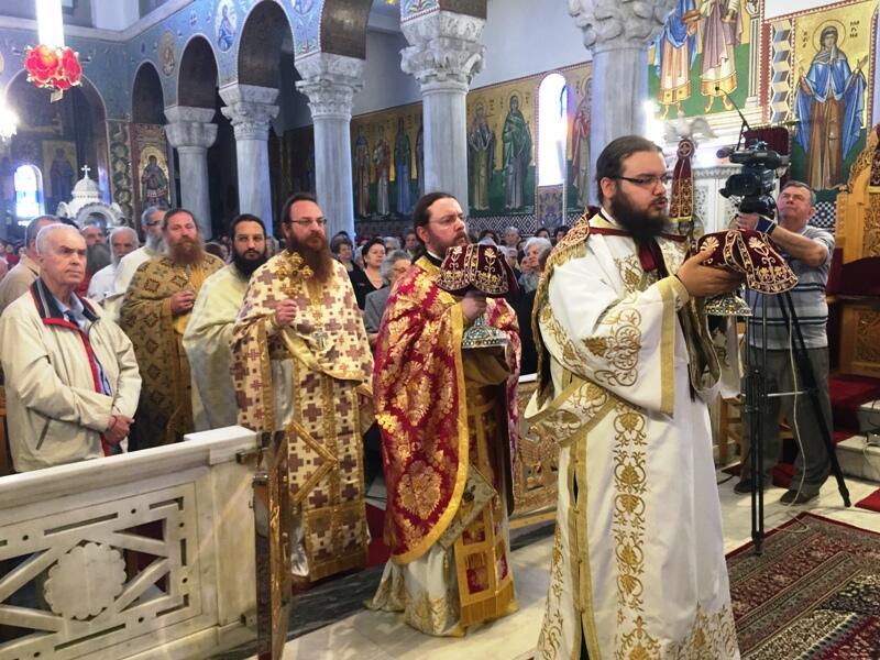 ο Εορτασμός των Αγίων Κωνσταντίνου και Ελένης Βόλο