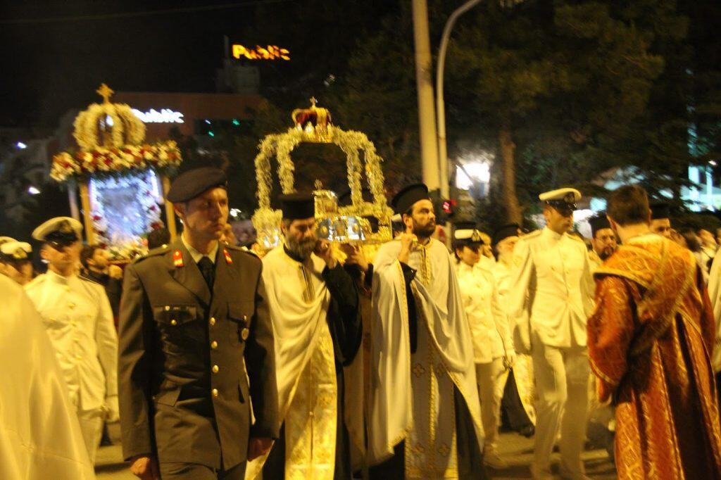 Εσπερινός Εορτής των Αγίων Κωνσταντίνου Ελένης Γλυφάδα