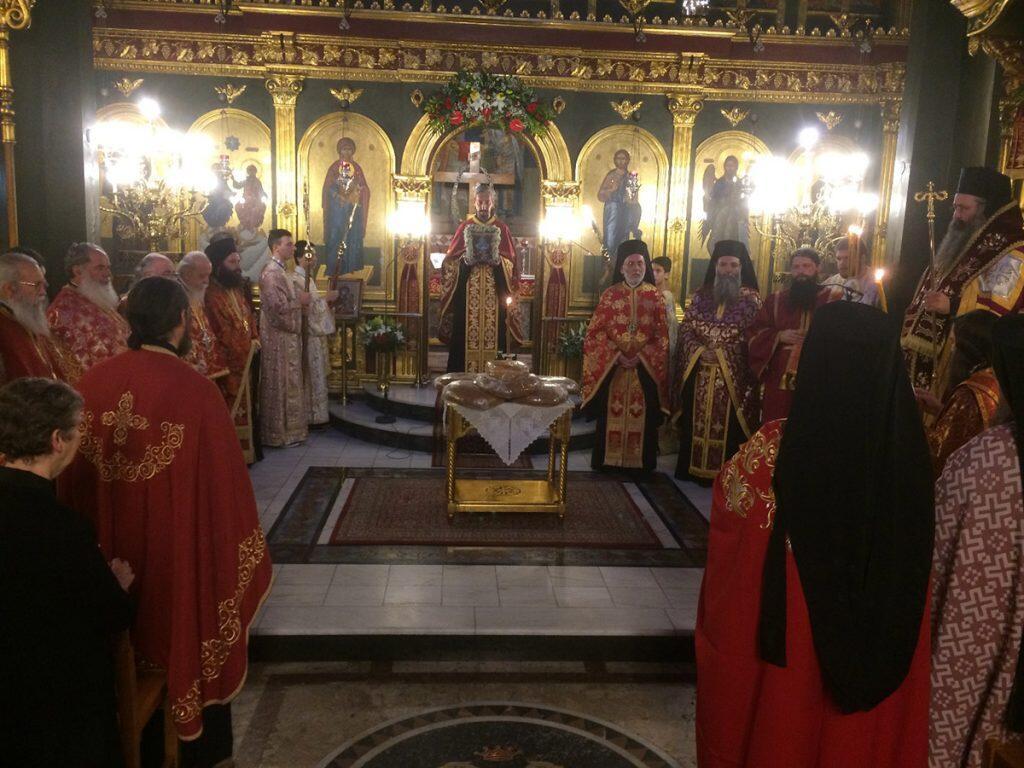 Μνήμη Αγίου Μελετίου