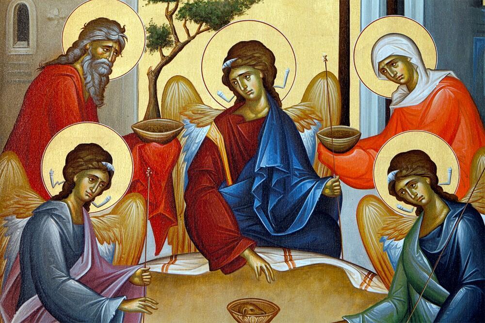 Η φιλοξενία του Αβραάμ ως φιλοξενία της Αγίας Τριάδος