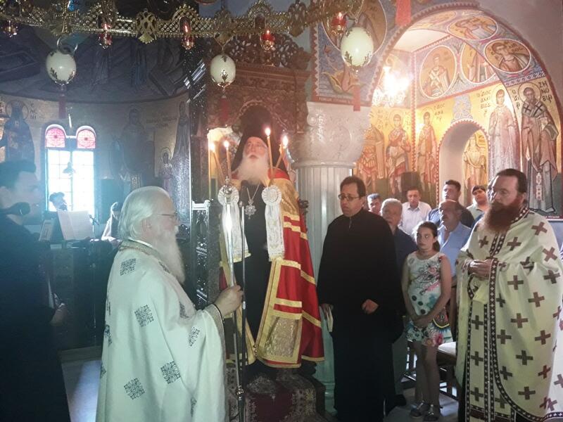 Νέα Μοναχή στην Μονή Παναγίας κάτω Ξενιάς