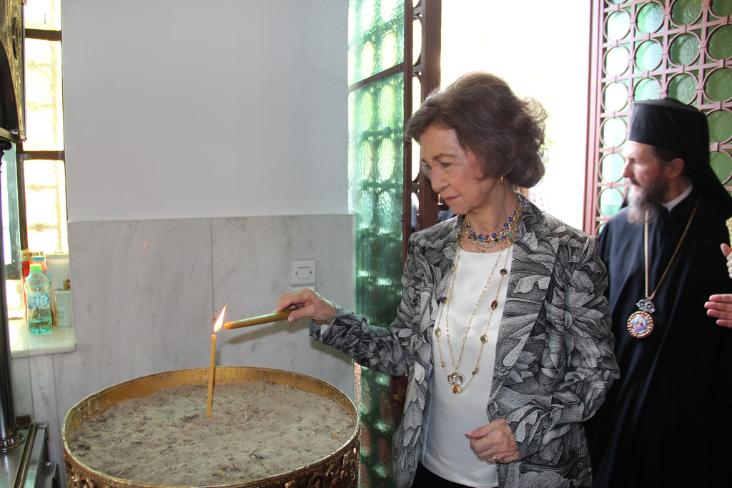 Βασίλισσα Σοφία Ισπανίας κερί