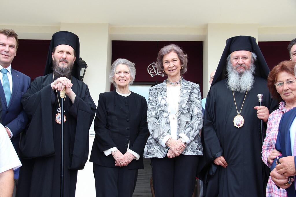 Βασίλισσα Σοφία Ισπανίας προσκύνησε την Αγία Ελένη