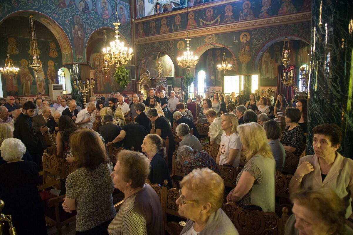 Εορτή της Πεντηκοστής στην Ι.Μ. Φιλαδελφείας