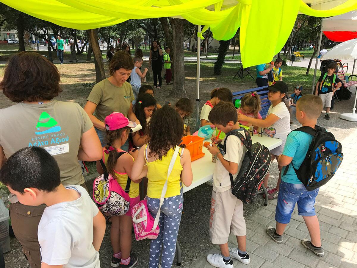 Παγκόσμια Ημέρα Περιβάλλοντος μεγάλη γιορτή στο Δημοτικό Πάρκο Κατερίνης