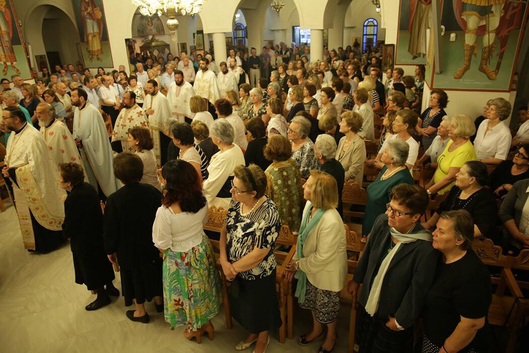 Εσπερινός Ιερός Ναός Αγίας Τριάδας Άνω Γλυφάδα
