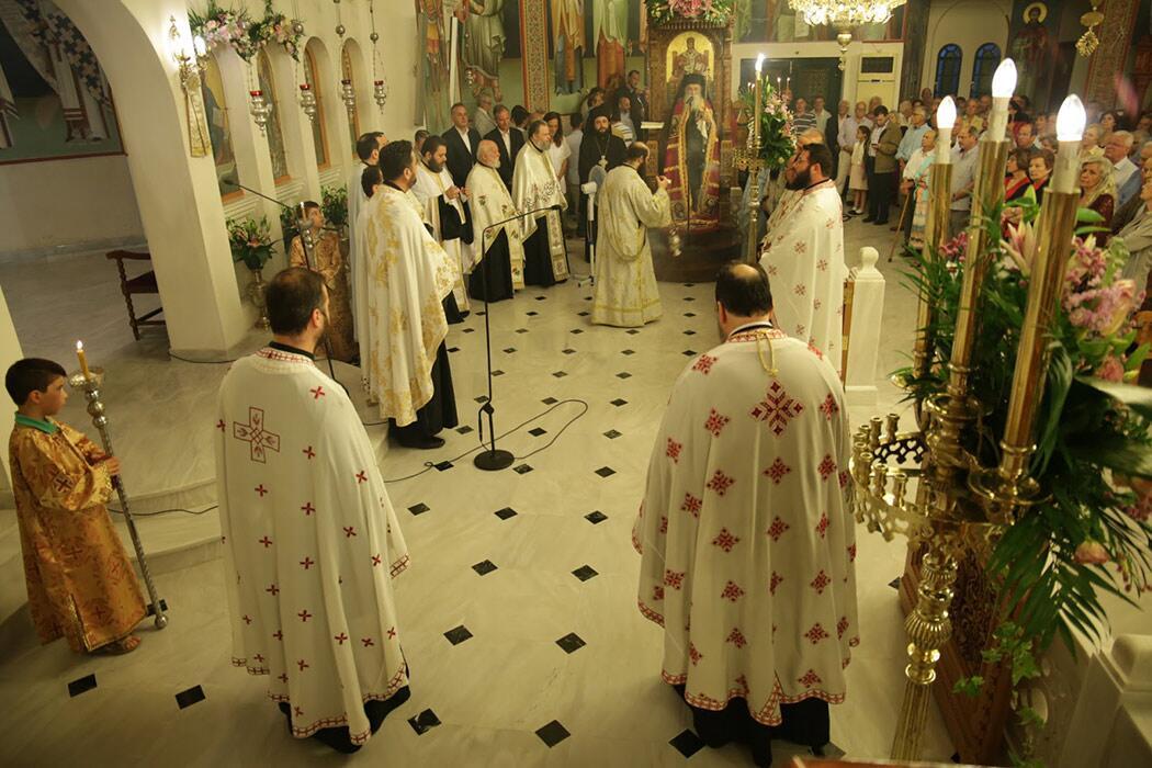 Ιερός Ναός Αγίας Τριάδας Άνω Γλυφάδα