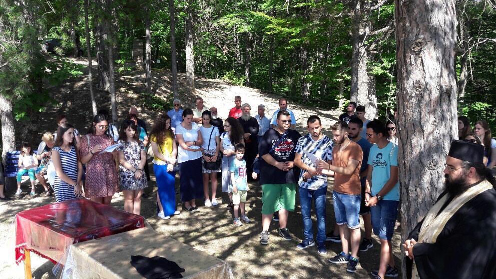 Προσκύνημα φοιτητών από την Κατερίνη στην Άνω Μηλιά Πιερίας